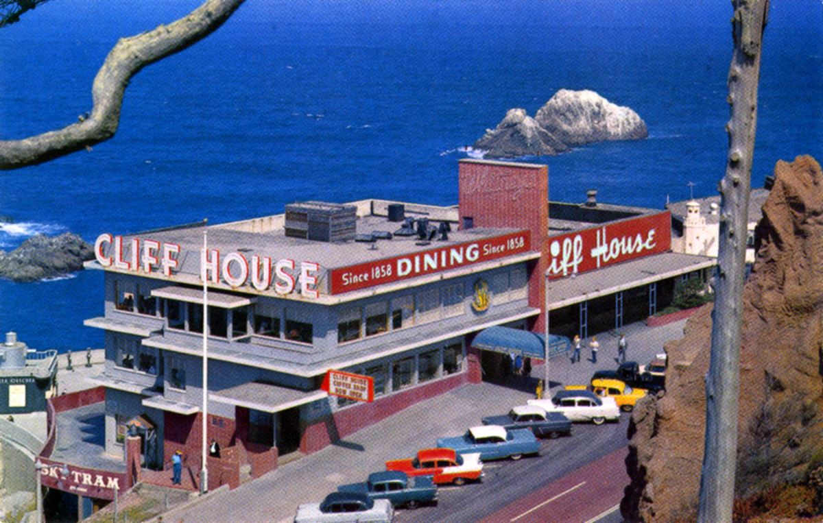 Cliff House (1950s Photo)