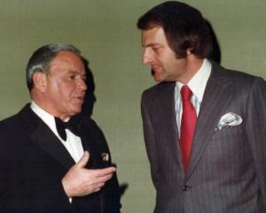Frank Sinatra and Sid Mark (Photo)